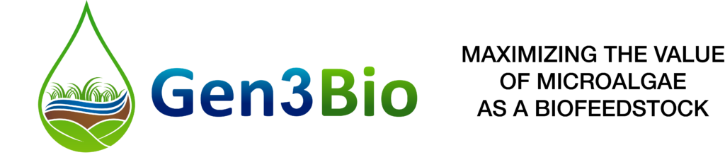 Gen3Bio: MAXIMIZING THE VALUE OF MICROALGAE AS A BIOFEEDSTOCK